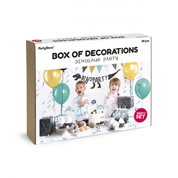 Dekoration Set - Dino Party