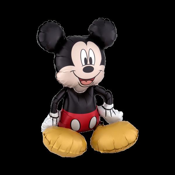 1 Sitting Ballon - Mickey Mouse