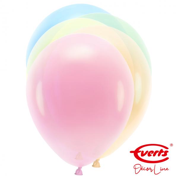 50 Luftballons - DECOR - Ø 28cm - Droplets - Assorted