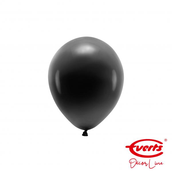 100 Miniballons - DECOR - Ø 13cm - Pearl & Metallic - Jet Black