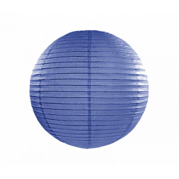 1 Lampion XL - Ø 35cm - Blau