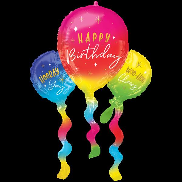 1 Ballon XXL - Birthday Fun Balloons