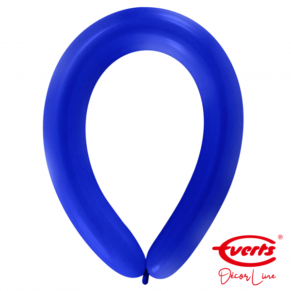 50 Modellierballons - DECOR - E360 - Ocean Blue
