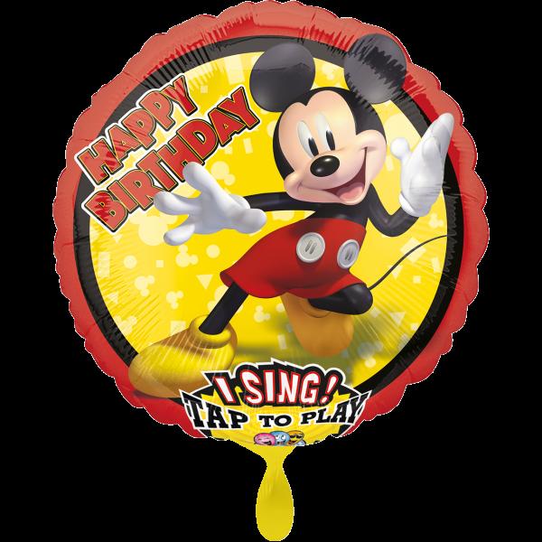 1 Musikballon - Mickey Mouse Forever
