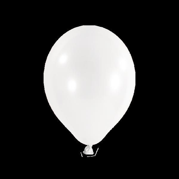 100 Luftballons - Ø 27cm - Transparent