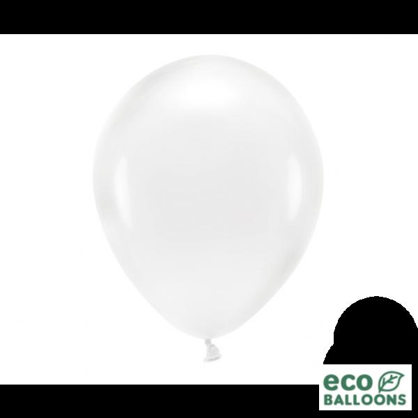 100 ECO-Luftballons - Ø 30cm - Crystal Clear