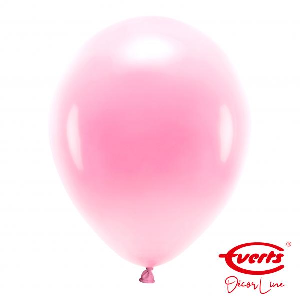 50 Luftballons - DECOR - Ø 35cm - Pearl & Metallic - Pretty Pink (Rosa)