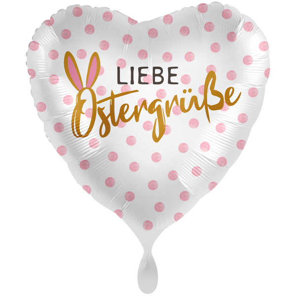 1 Ballon XXL - Liebe Ostergrüße