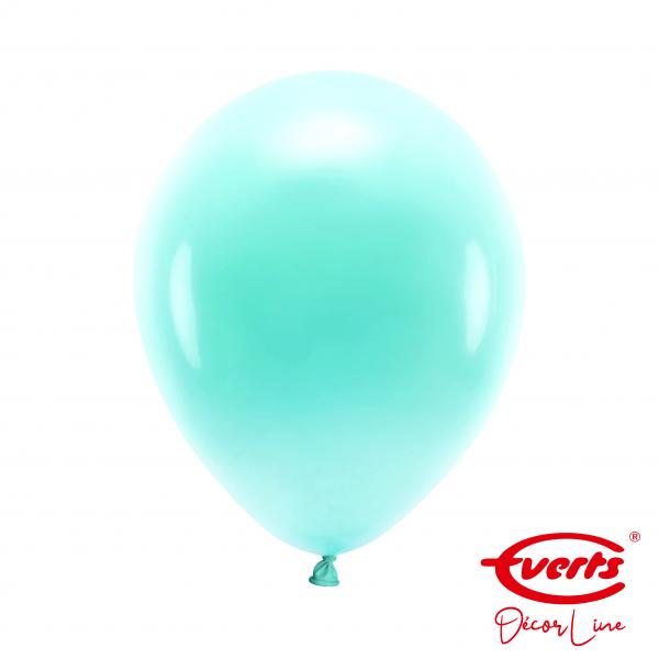 50 Luftballons - DECOR - Ø 28cm - Pearl & Metallic - Robins Egg Blue
