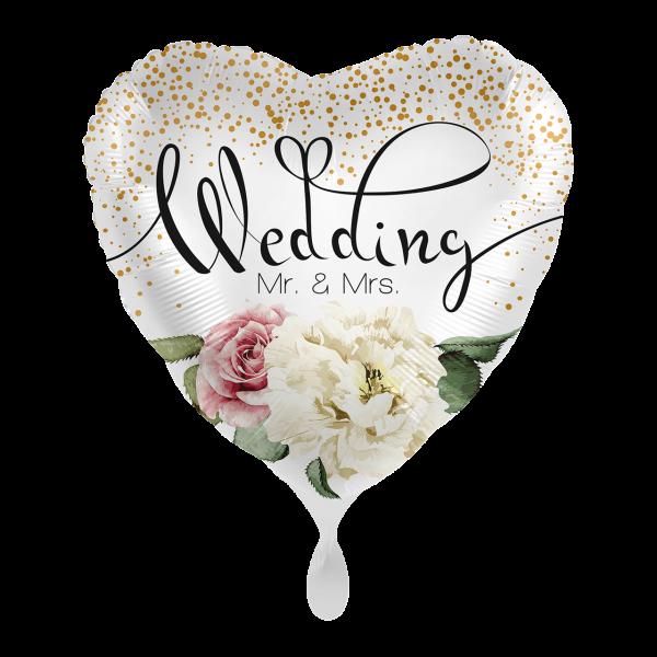1 Ballon - Wedding Flower