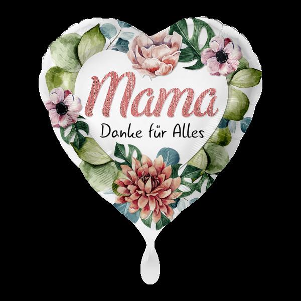 1 Ballon - Mama Danke für Alles