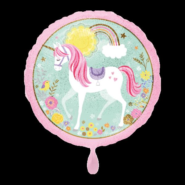 1 Ballon - Magical Unicorn