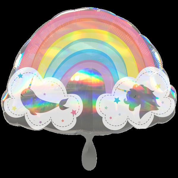 1 Ballon XXL - Magical Rainbow
