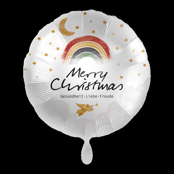 1 Ballon - Christmas Rainbow Wishes