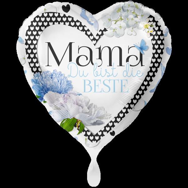 1 Ballon XXL - Mama Du bist die Beste