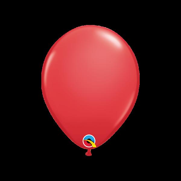 6 Luftballons - Ø 27cm - Red