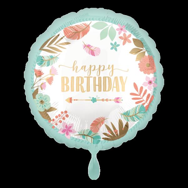 1 Ballon - Boho Birthday Girl