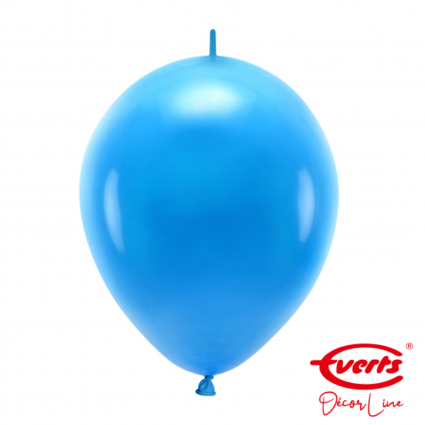 50 Girlandenballons - DECOR - Ø 30cm - Bright Royal Blue