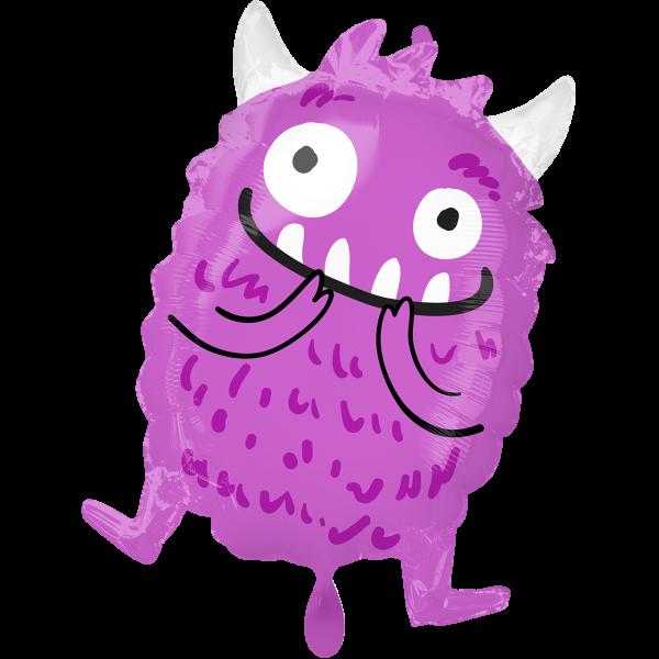 1 Ballon - Happy Little Monster