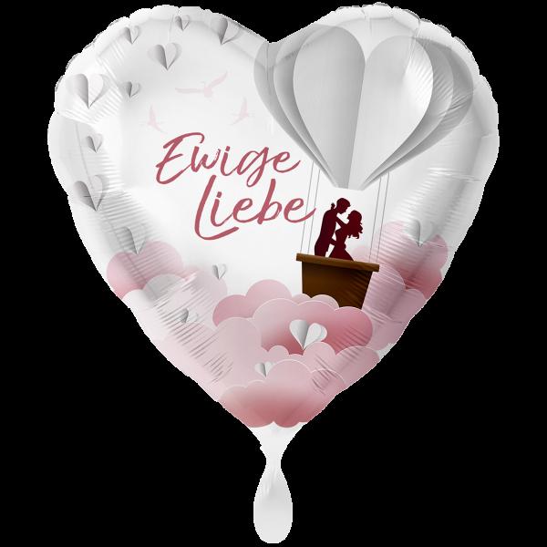 1 Ballon XXL - Ewige Liebe