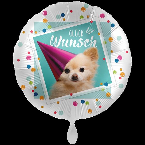 1 Ballon XXL - Glückwunsch Sweet Puppy