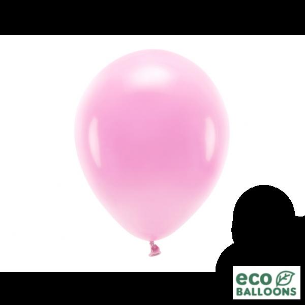 10 ECO-Luftballons - Ø 26cm - Pink (Rosa)
