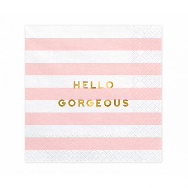 20 Servietten Trend - 33cm - Hello Gorgeous