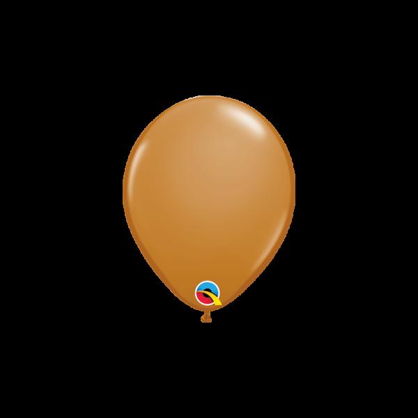 100 Miniballons - Ø 15cm - Mocha Brown