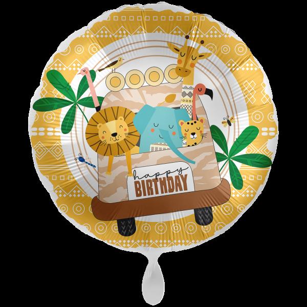 1 Ballon XXL - Safari Birthday