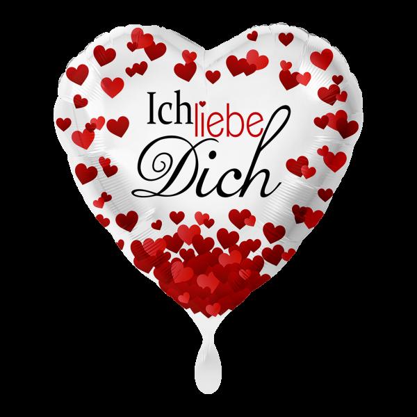 1 Ballon - Ich liebe Dich
