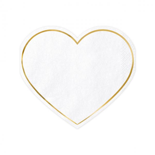 20 Servietten Trend - 28cm - Heart
