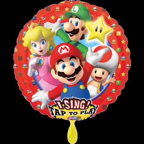 1 Musikballon - Super Mario Brothers