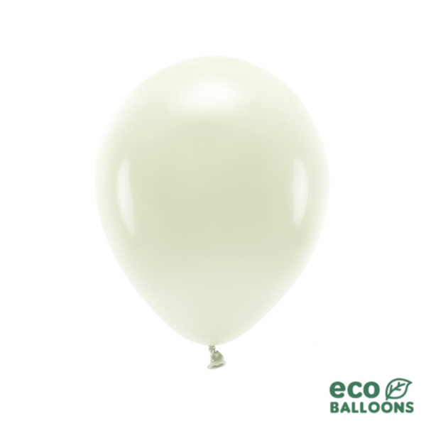 10 ECO-Luftballons - Ø 30cm - Cream