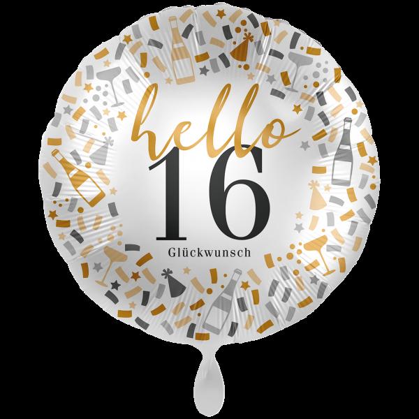 1 Ballon XXL - Hello 16
