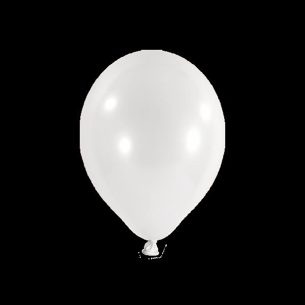 500 Luftballons - Ø 25cm - Weiss