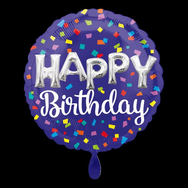 1 Ballon - HBD Balloon Letters