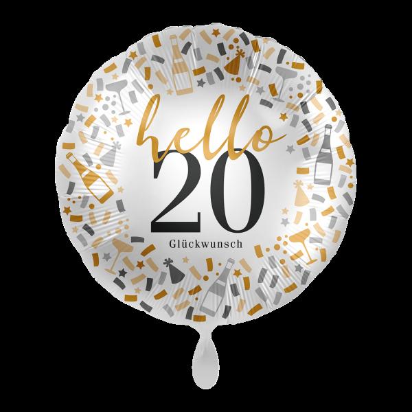 1 Ballon - Hello 20