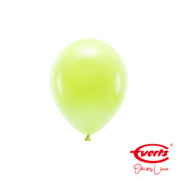 100 Miniballons - DECOR - Ø 13cm - Macaron - Lemon