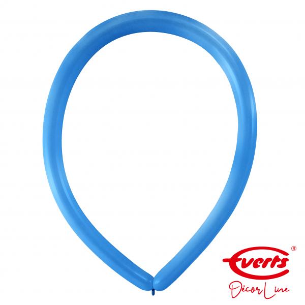 100 Modellierballons - DECOR - E160 - Bright Royal Blue