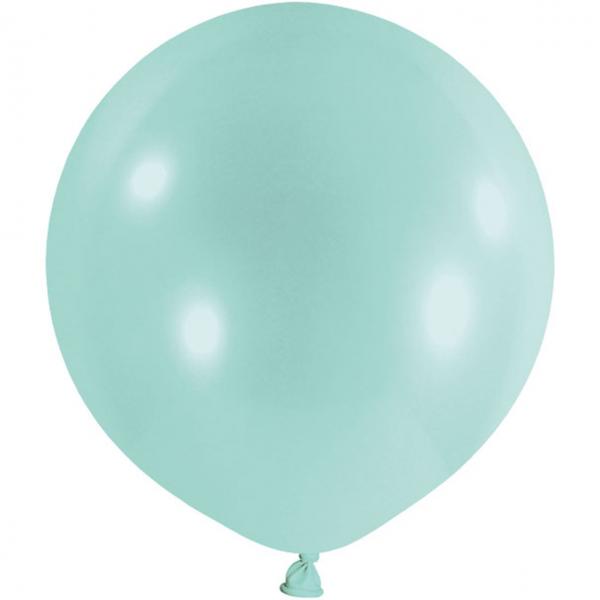 1 Riesenballon - Ø 1m - Pastell - Mint