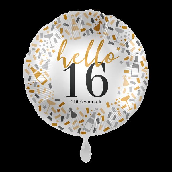 1 Ballon - Hello 16