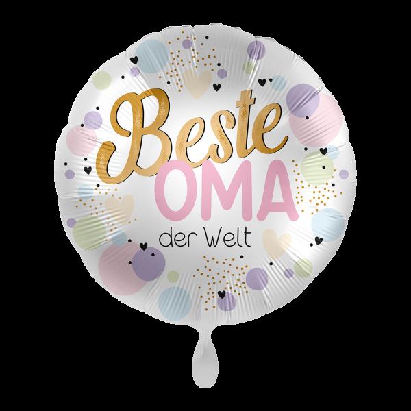 1 Ballon - Beste Oma der Welt