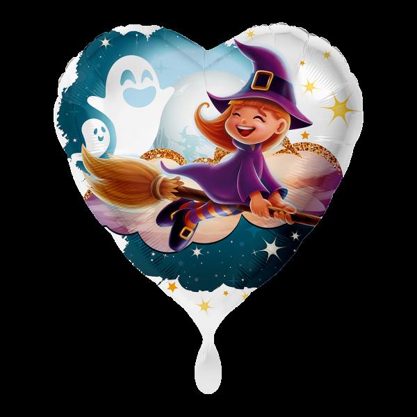1 Ballon - Kleine Hexe