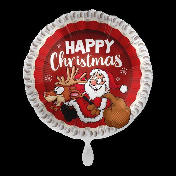 1 Ballon - Happy Christmas
