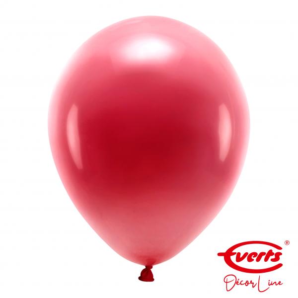 50 Luftballons - DECOR - Ø 35cm - Pearl & Metallic - Burgundy