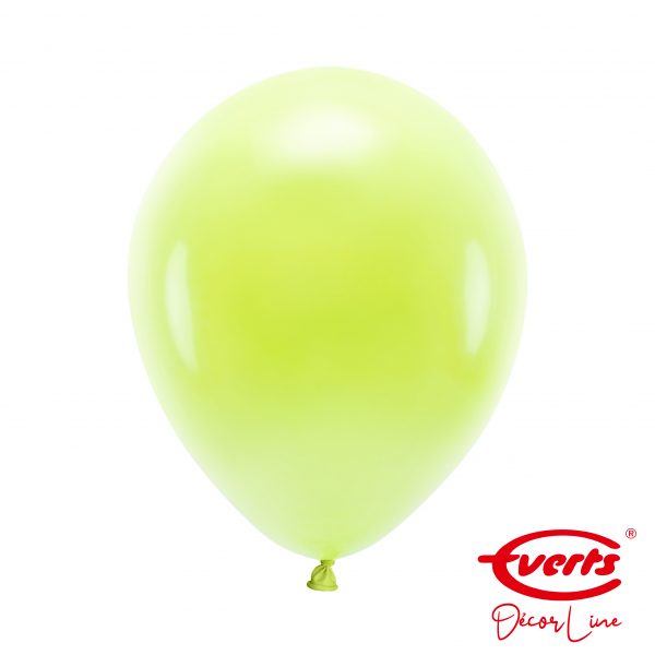 50 Luftballons - DECOR - Ø 28cm - Macaron - Lemon