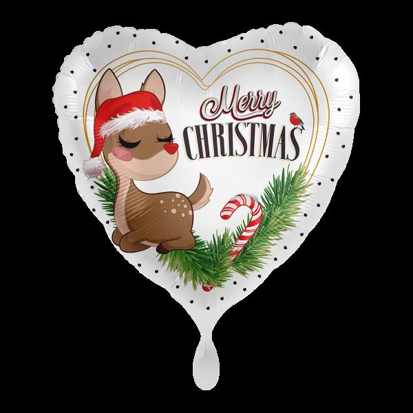 1 Ballon - Sweet Reindeer