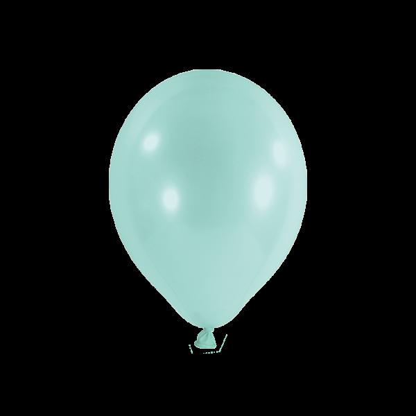 100 Luftballons - Ø 23cm - Pastell - Mint