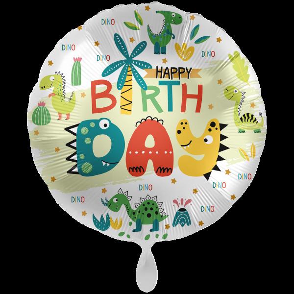 1 Ballon XXL - Dinoland Birthday