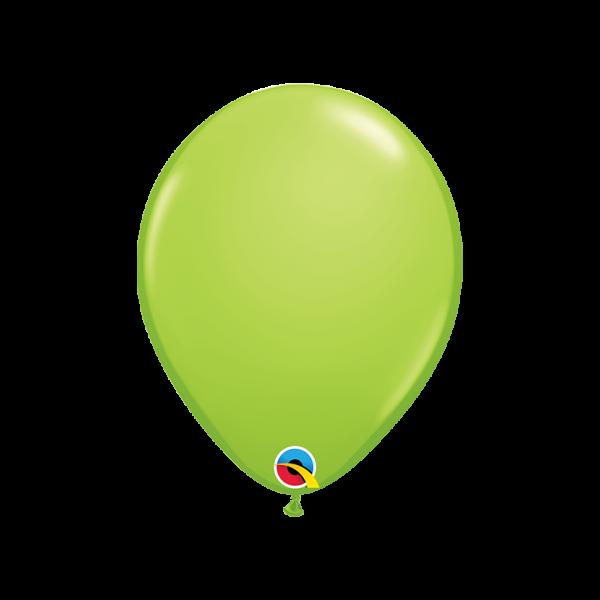 6 Luftballons - Ø 27cm - Lime Green